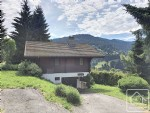 4 bedroom, 2 bathroom alpine-style chalet with balcony and great views.