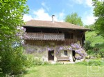 An exciting renovation prospect, a Savoyard farmhouse with a beautiful garden and open views.