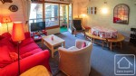 Spacious 2 bedroom duplex apartment with mezzanine and indoor swimming pool, close to the slopes.