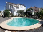 French property for sale: Bright House 3 Bedrooms with Garden, Pool & Views