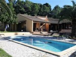 Modern villa with 2 independent studios on a 5697 m² plot with pool on the Canal du Midi.