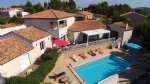 High quality architect villa with 206 m² of living space on 1796 m² with pool and views.
