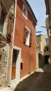 Pretty village house nearby all shops with 2 bedrooms, storage and terrace.