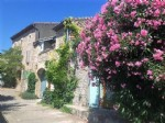French property for sale: Renovated former barn with 4 beds, workshop garage, terrace & views