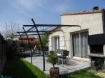 Semi-detached 3 bedroom villa with garden, terrace and garage.