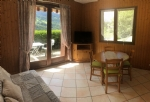27M2 apartment, 1 bedroom + box room, 10 minutes from ski stations