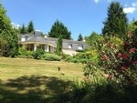 Magnificant country property with 10 acres and a lake.