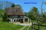 17th Century Normandy cottage with amazing views.