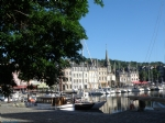 In the heart of Honfleur, unusual 1 bedroom apartment.