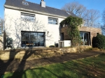 Unusual, contemporary property with lots of natural light and independent rental unit