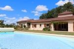 Close to Salignac, recently built single-story villa, 170 m²