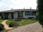 10MN from Honfleur, single-story house