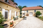 18th century farmhouse near Sarlat on beautiful flat ground.