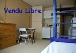 21M2, studio apartment, Mediathéque, close to universities and ports