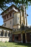 Unusual neo-Gothic, timber frame chateau