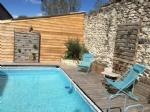 Very nice 4 rooms flat on ground floor at Montboucher sur Jabron.