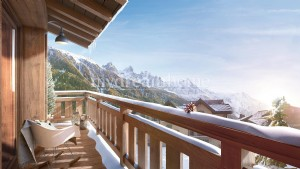New Build - Top End 2 Bedroom Ski Apartment Les Praz de Chamonix (74400)