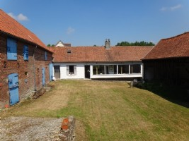 Beautiful farmhouse, 3995m2 of land, Authie Valley