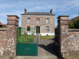 3 bedrms master house on 2524m², 1 hour from Calais