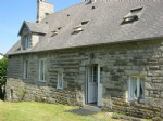 Stone property with garage and old stone cattle shed partially renovated - ideal Gîte