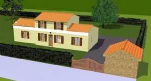 Plot Of Land for sale ,1800m2 land South facing