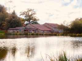 Barn conversion with lakes