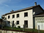 Large 4 bedroom village house with outbulildings. Near Aubeterre
