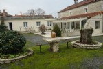 Rustic Stone 5 bed house Pool river views Charente