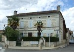 Dordogne - Charente borders. 4-bed village house with garden and outbuildings.