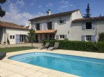 Beautifully located 5 bedroom house, views, pool, 6,2 hectares of enclosed pastureland.