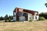 Charente . Architect designed 3 bedroom house. 2+ acres