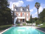 Aubeterre region. Imposing chateau with guest accommodation. Pool. 2.5 acres.
