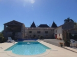 Large 8 bedroom family home or B&B with pool, Nr Matha
