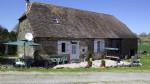Lovely old farmhouse with barn attached, huge converted barn and a gite for sale Dordogne