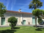 Lovely stone country house with outbuildings. 3+ acres. Dordogne Charente borders