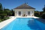 5 bed Mediterranean style villa 180 m²,pool, land 5800 m²,Charente