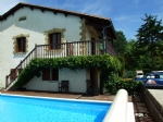 House with pool. South facing views South Charente Dordogne.