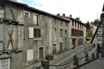 Two old houses, part 15th C on 375m2 in the historic district of medieval Parthenay, 79200