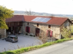 L shaped farmhouse with 2 gîtes on 2489 m² of land
