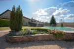 Spacious hilltop house with pool and potential for gîtes