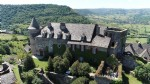 17th century castle overlooking the Marcillac vineyards