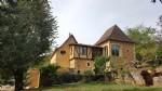 Beautiful renovated stone house near Eyzies of Tayac, in Périgord Black