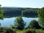 Land 1042 m² facing a lake and facing the nature