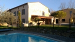 Lovely character stone house with sunny garden and pool