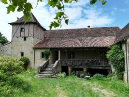 Important property near Figeac