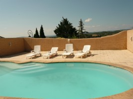 Grand Domaine with Pool, Views several Outbuildings