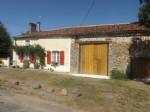 Oradour Fanais 4/5 bedroom old farmhouse, barn, outbuldings, beautiful garden and paddock
