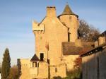 Renovated castle near Najac