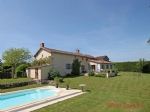 Vasles (79) - Detached farmhouse with 3 bed cottage, covered swimming pool