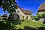 Nr Branceilles - Superb character 4 bed house with barn and a bread oven within a woodland garden